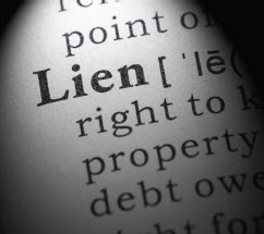 Lien on a Property