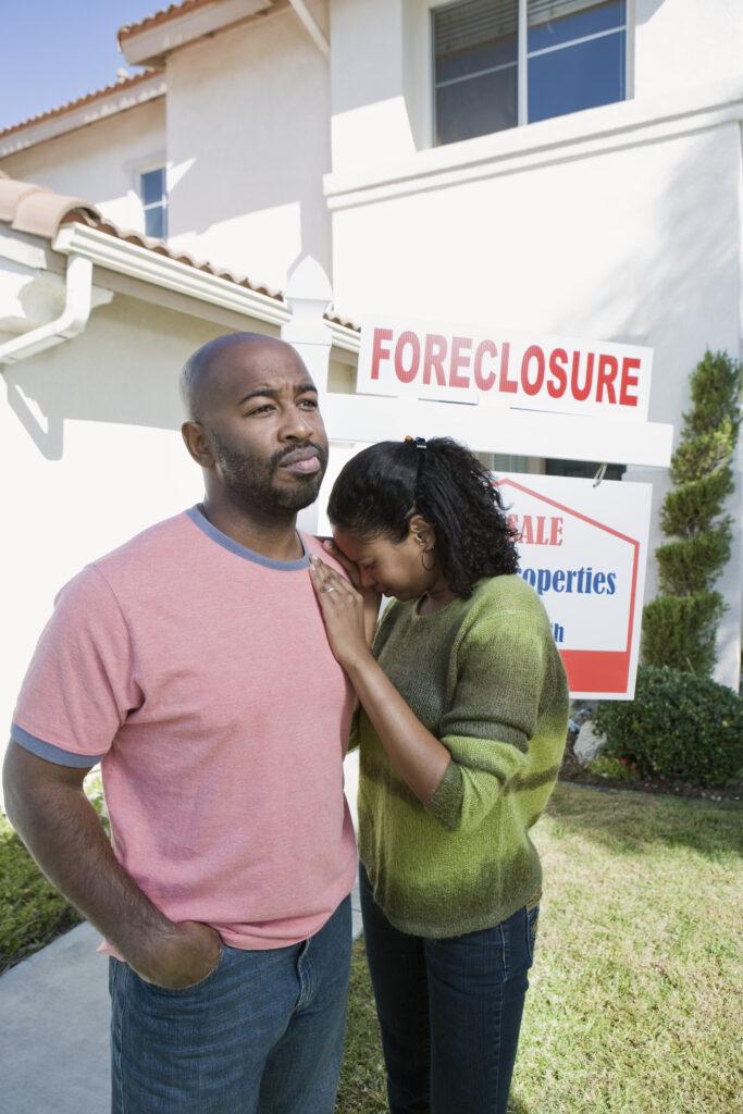 House foreclosure California